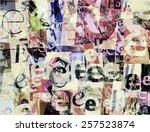 designed background. handmade... | Shutterstock .eps vector #257523874
