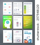 templates. vector flyer ... | Shutterstock .eps vector #257548120