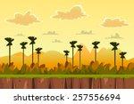 Seamless Cartoon Tropical...