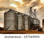 grain processing plant | Shutterstock . vector #257569093