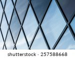 geometric architectural lines... | Shutterstock . vector #257588668