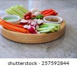 Vegetable Crudites And Dips ...