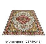 Turkish Carpet Isolated On White