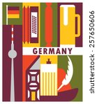 Vector Germany Background