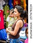 otavalo  ecuador   jan 3  2015  ... | Shutterstock . vector #257678224