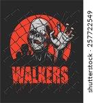 walker | Shutterstock .eps vector #257722549