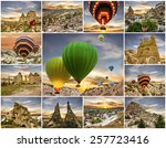 Collage   Hot Air Balloons And...