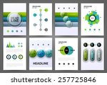 set of infographic design... | Shutterstock .eps vector #257725846