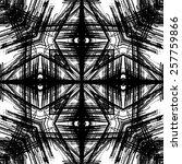 art sketched naive ornamental... | Shutterstock . vector #257759866