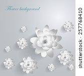 paper lotus | Shutterstock .eps vector #257768410