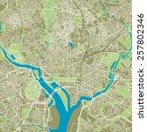 Washington Dc Vector Map Ultra...