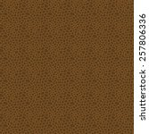 brown seamless vector leather... | Shutterstock .eps vector #257806336