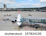 aircraft ready for boarding | Shutterstock . vector #257824150