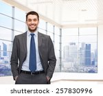 business  people and office... | Shutterstock . vector #257830996