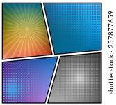 abstract creative concept... | Shutterstock .eps vector #257877659