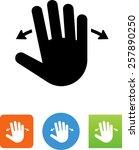 hand panning icon