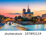 picturesque cityscape of... | Shutterstock . vector #257892119