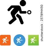 handball player icon | Shutterstock .eps vector #257894450