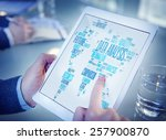 data analysis analytics... | Shutterstock . vector #257900870