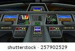 control room | Shutterstock . vector #257902529