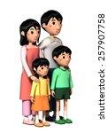 family | Shutterstock . vector #257907758