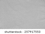 black and white mesh fabric | Shutterstock . vector #257917553