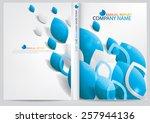 annual report cover design   Shutterstock .eps vector #257944136