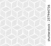 black and white vector seamless ...   Shutterstock .eps vector #257944736