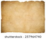 Old Blank Parchment Or Paper...