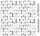 seamless triangle pattern.... | Shutterstock .eps vector #257982314