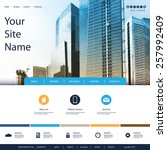 website design for your... | Shutterstock .eps vector #257992409
