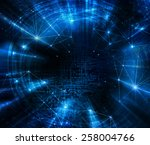 abstract blue background.... | Shutterstock . vector #258004766