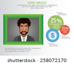 frame design on clean... | Shutterstock .eps vector #258072170