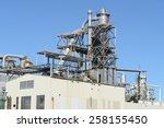 industrial factory exterior | Shutterstock . vector #258155450
