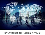 data analysis analytics... | Shutterstock . vector #258177479