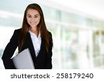 business woman at the office... | Shutterstock . vector #258179240