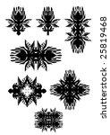 graphic design elements.... | Shutterstock .eps vector #25819468