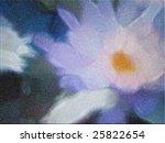 Impressionist Like Lotus Flowe...