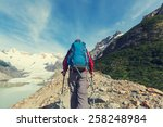 hike in patagonia | Shutterstock . vector #258248984