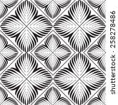 blue seamless graphic pattern ... | Shutterstock .eps vector #258278486