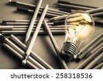 creative content  writing ... | Shutterstock . vector #258318536