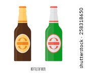 vector illustration of  beer | Shutterstock .eps vector #258318650