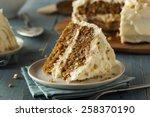 Healthy Homemade Carrot Cake...