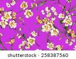 classic wallpaper vintage... | Shutterstock . vector #258387560