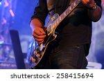 Artist Guitarist Hand Play...