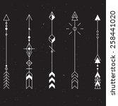 set of vector minimalism...   Shutterstock .eps vector #258441020