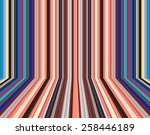 colorful perspective background ... | Shutterstock . vector #258446189