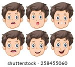 Different Facial Expressions O...