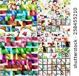 universal huge mega set of... | Shutterstock .eps vector #258455210