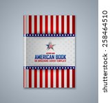 brochure or book cover template ... | Shutterstock .eps vector #258464510